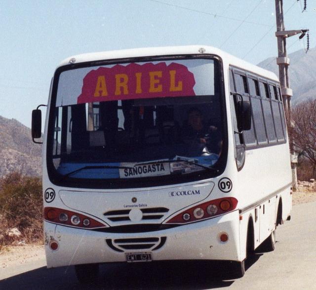 2005 Galicia Midibus - MB 814D 2005