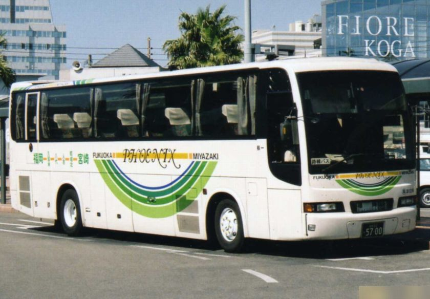 2005 Mitsubischi Fuso Aero Bus (NSK 92MC body) KC-MS829P