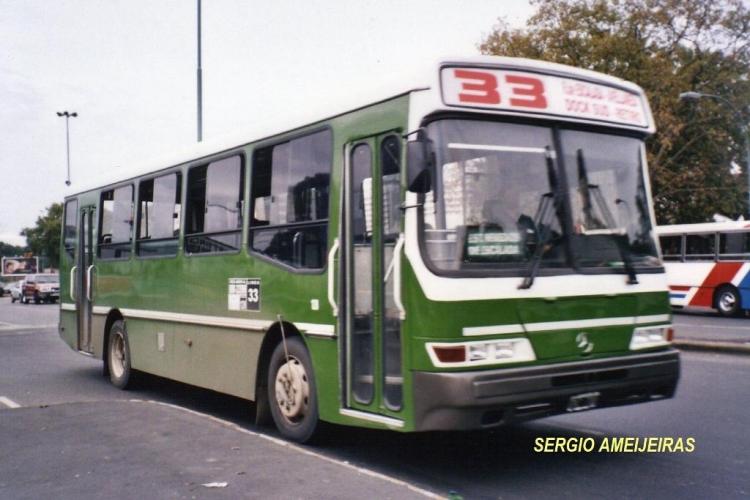 2006 Mercedes-Benz OH 1115 L-sb - Galicia - Alte. Brown