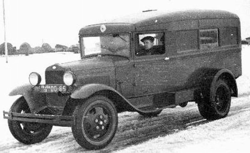 ambulance gaz 55 cp