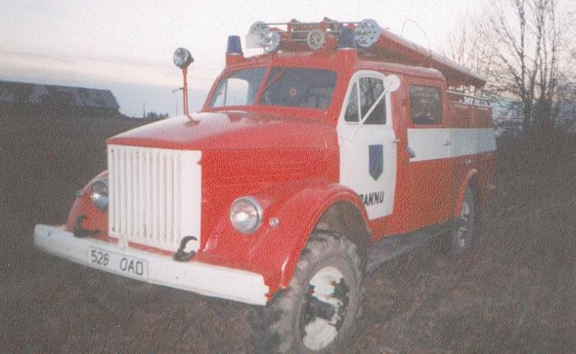 Brandweer Trucks gaz 63