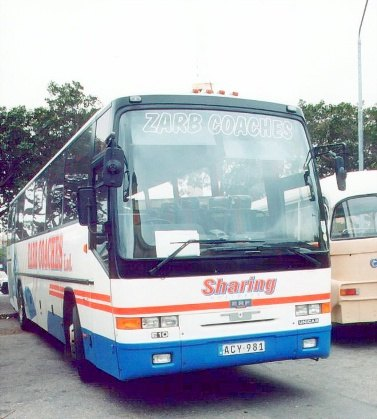 Bussen ERF E10 Trailblazer ACY 981. Chassis No.75903
