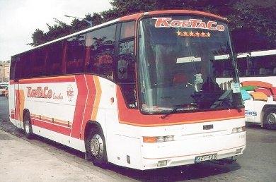 Bussen ERF E10 Trailblazer ACY-985. Chassis No. 81190