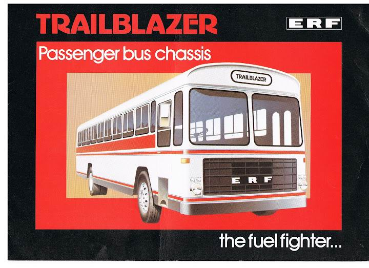 Bussen ERF Trailblazer the fuel fighter