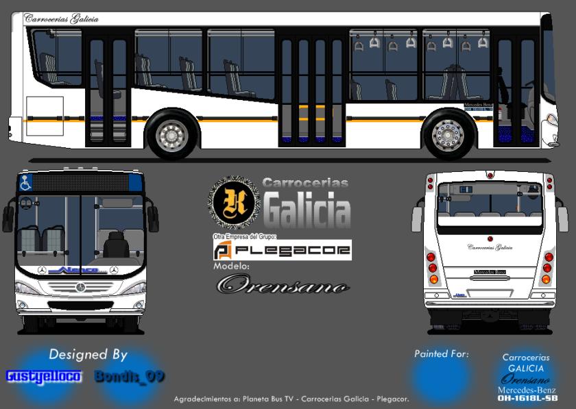 galicia MB OH 1618L-SB Orensano