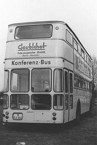 Gaubschat Geisterbus Heck alt
