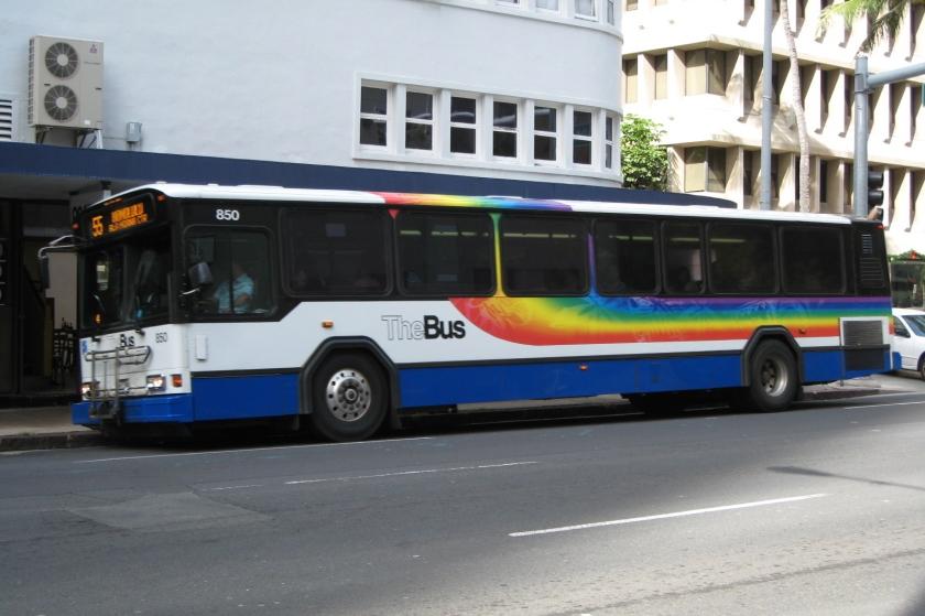 Gillig TheBus (Downtown Honolulu)