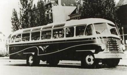 1932 DAF autobus met Groenewold autobusopbouw