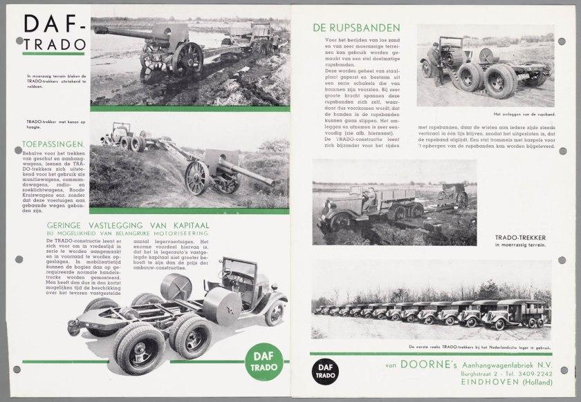 1934 DAF Trado ombouwconstructie c