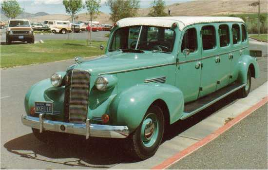 1937 Cadillac Model 75 Bender Bodied with a 156 inch wheelbase and a L-head V8 346 cubic inch engine (135 HP) 2