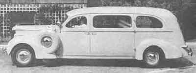 1938 Studebaker Bender Ambulance