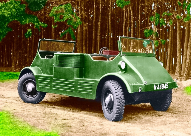 1939 DAF MC-139 Amphicar 1948cc