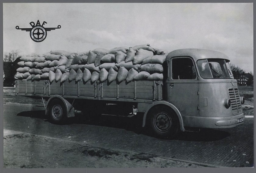 1943 DAF DT 10 prototype 10 tonner
