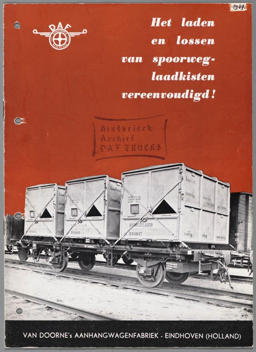 1947 DAF Laadkistenvervoer a