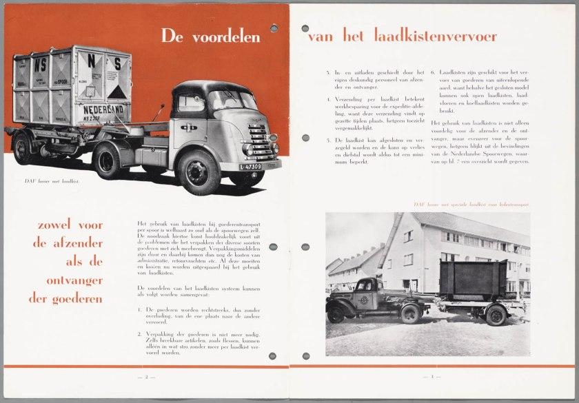 1947 DAF Laadkistenvervoer b