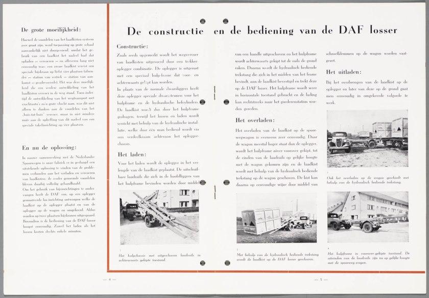 1947 DAF Laadkistenvervoer c