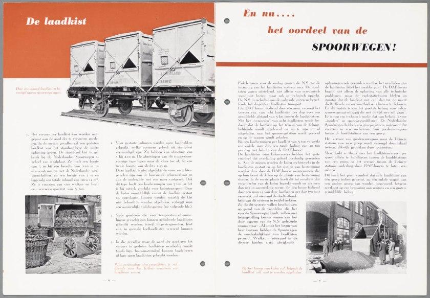 1947 DAF Laadkistenvervoer d