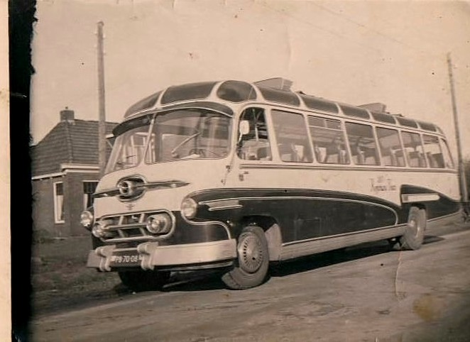 1947 DAF met Smit Joure opbouw
