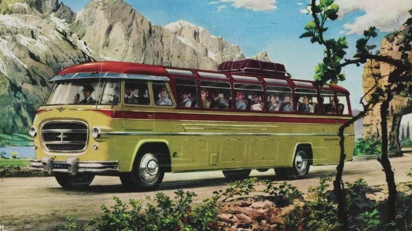 1948 DAF König carrosserie Tekening