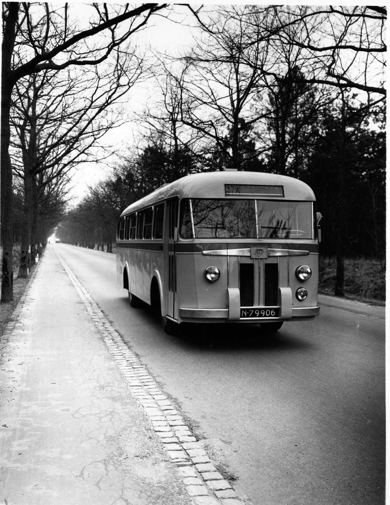 1948 DAF-Verheul bus Nederland
