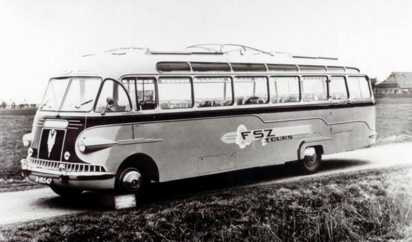 1949 DAF benzine Car. Medema Appingedam