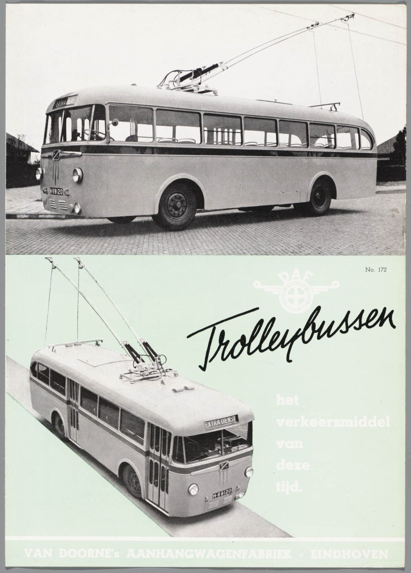 1949 DAF Trolleybussen