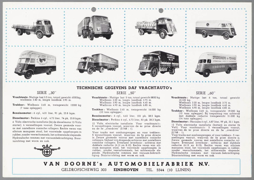 1950 DAF 30-50-60 c