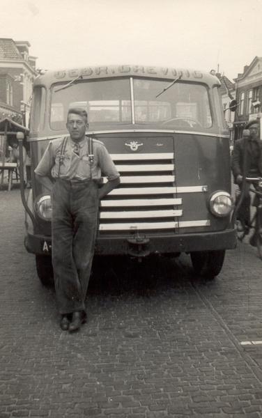 1950 DAF 7 streper met Greving