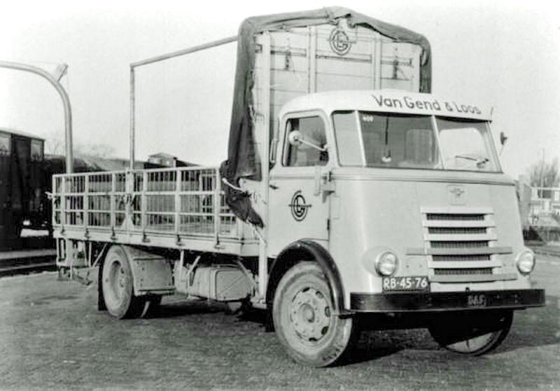 1950 DAF 7 van Gend en Loos
