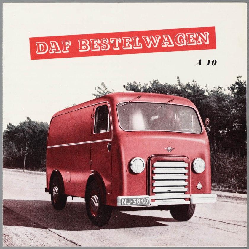 1950 DAF A10 bestelwagen a