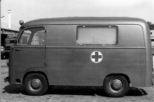 1950 DAF Ambulance 10 3