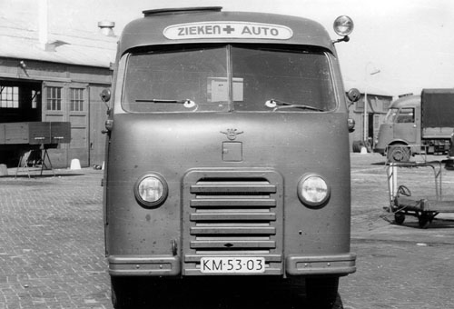 1950 DAF Ambulance 10 4
