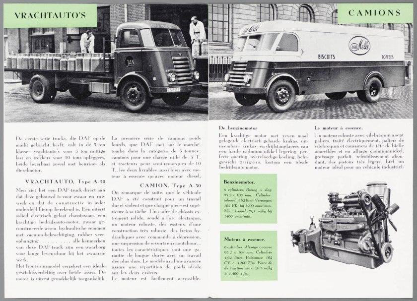 1950 DAF Bedrijfsauto's
