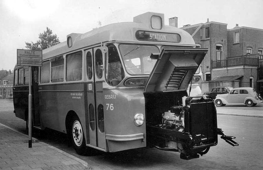 1950 DAF BUS URBAIN 76