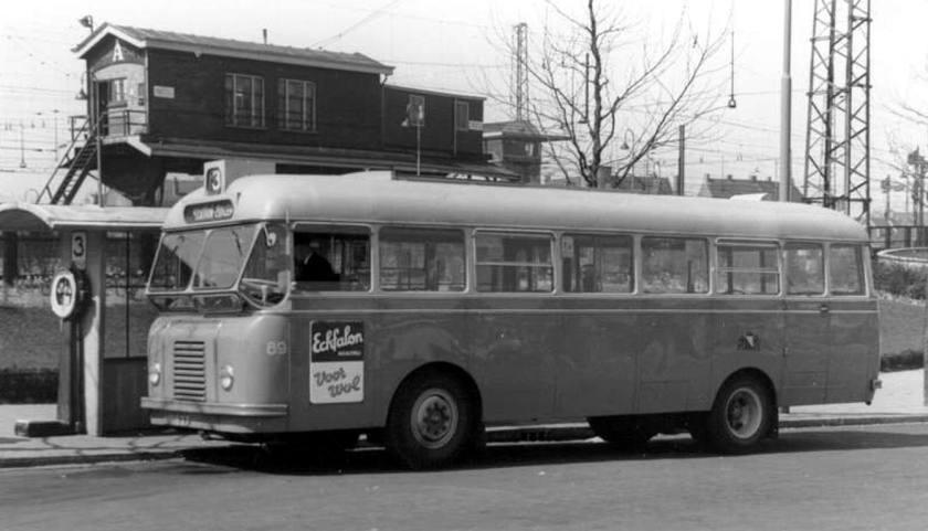 1950 DAF BUS URBAIN