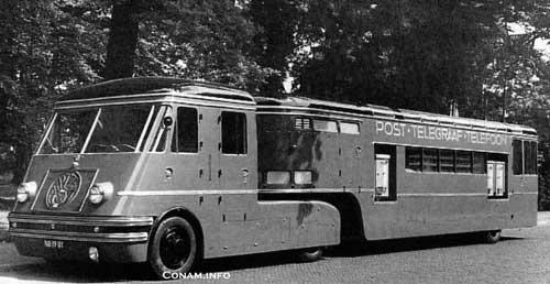 1950 DAF Medema-daf-ptt-Kantoor