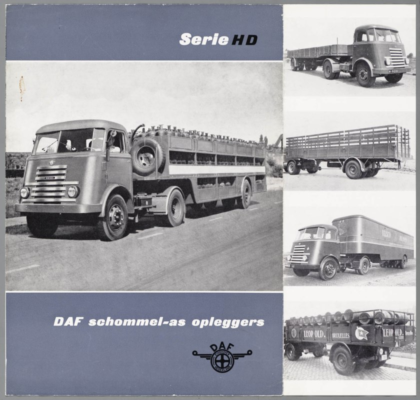 1950 DAF Schommelas-opleggers serie HD b