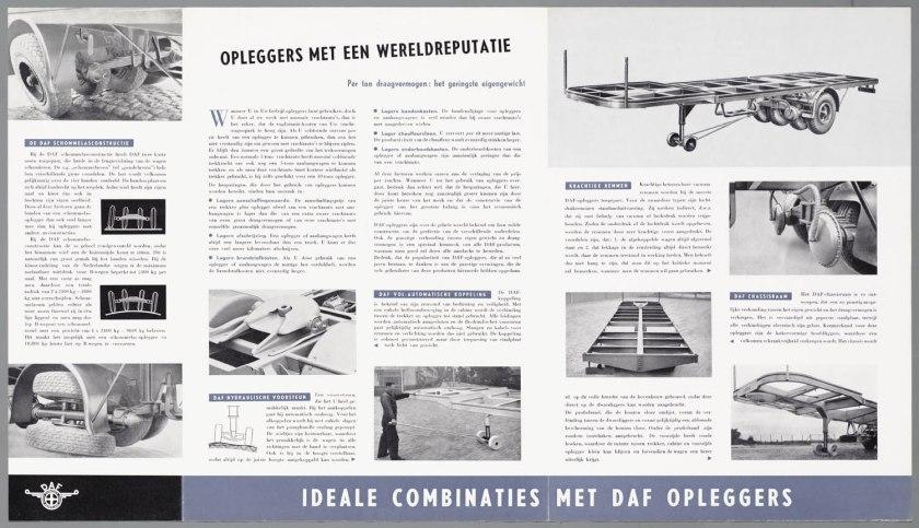 1950 DAF Schommelas-opleggers serie HD c