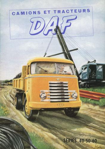 1950 DAF Tekening series 40-50-60