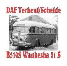 1950 DAF VERHEUL B510S Waukesha 51S