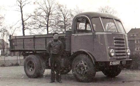 1950 DAF voor Hazewinkel