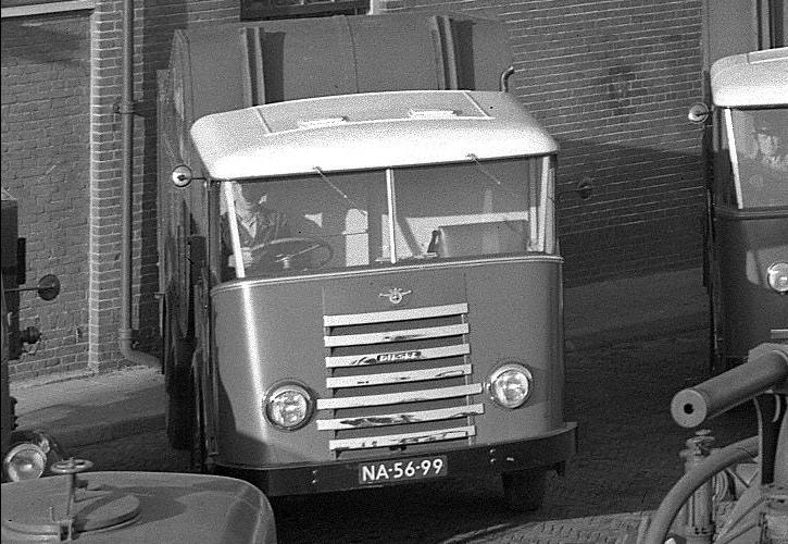 1950 DAF Vuilniswagen