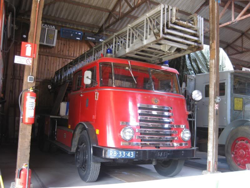 1951 DAF Brandweer Ladder Wagen