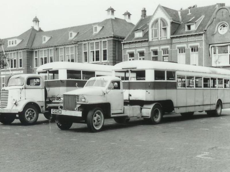 1951 DAF VIPRE Opleggerbus
