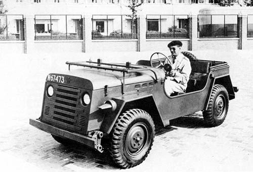1951 DAF YA-054  1