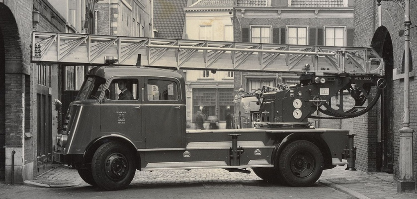1952 Brandweer Trucks DAF A50 opbouw Metz NB-22-74