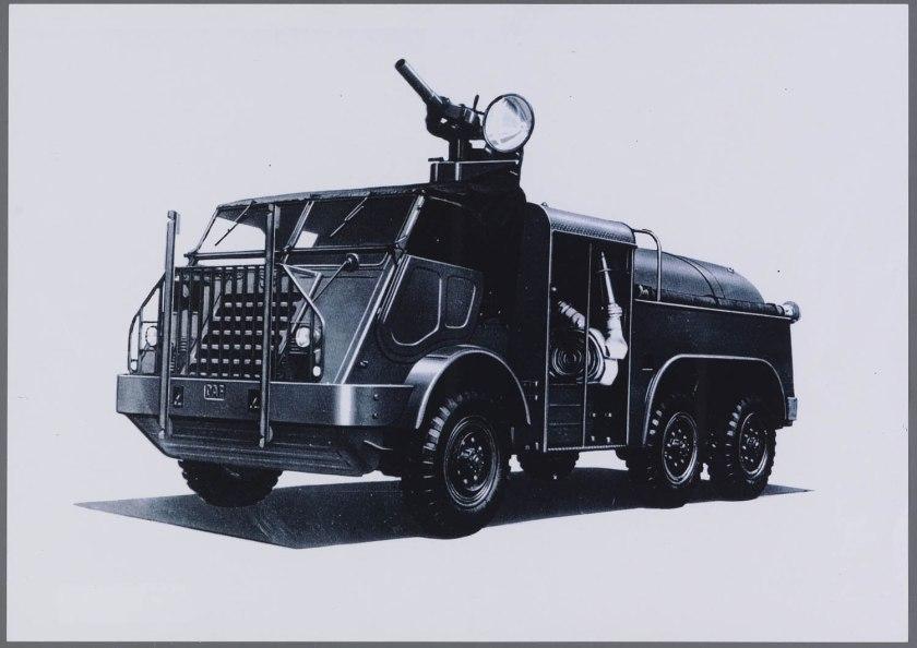 1952 Brandweer Trucks DAF YA 328