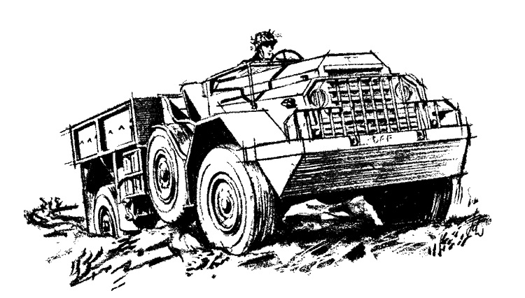 1952 DAF 102 tekening