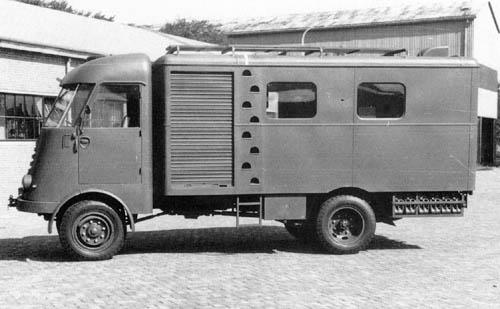 1952 DAF A 414 Radio