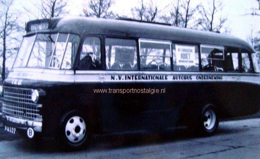 1952 DAF Autobus  foto Sjeng Thoonen